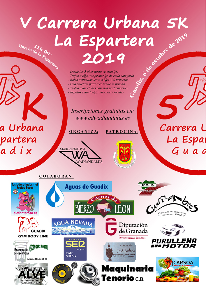 Cartel 5K 2019 web