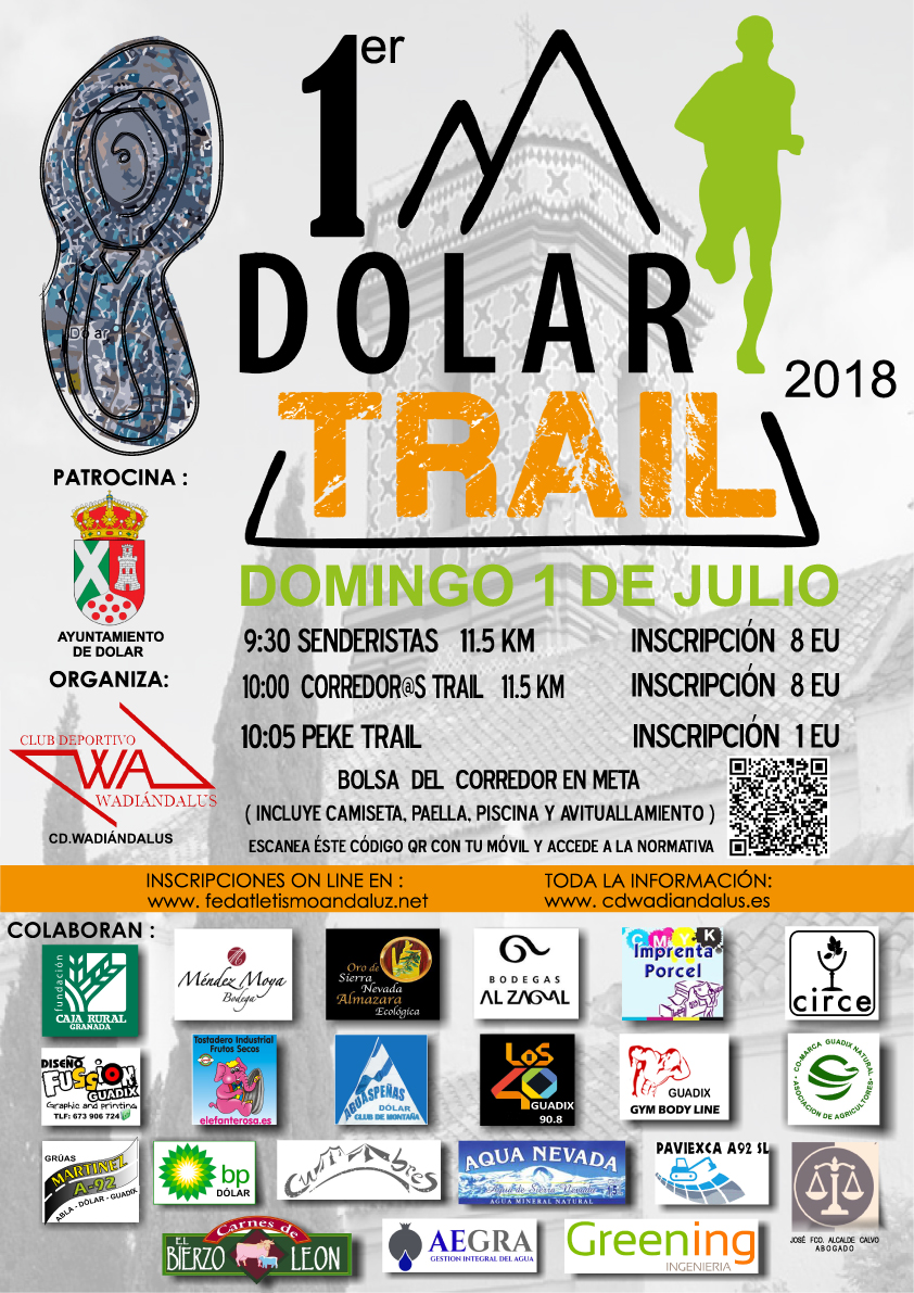 Cartel Dólar Trail 2018